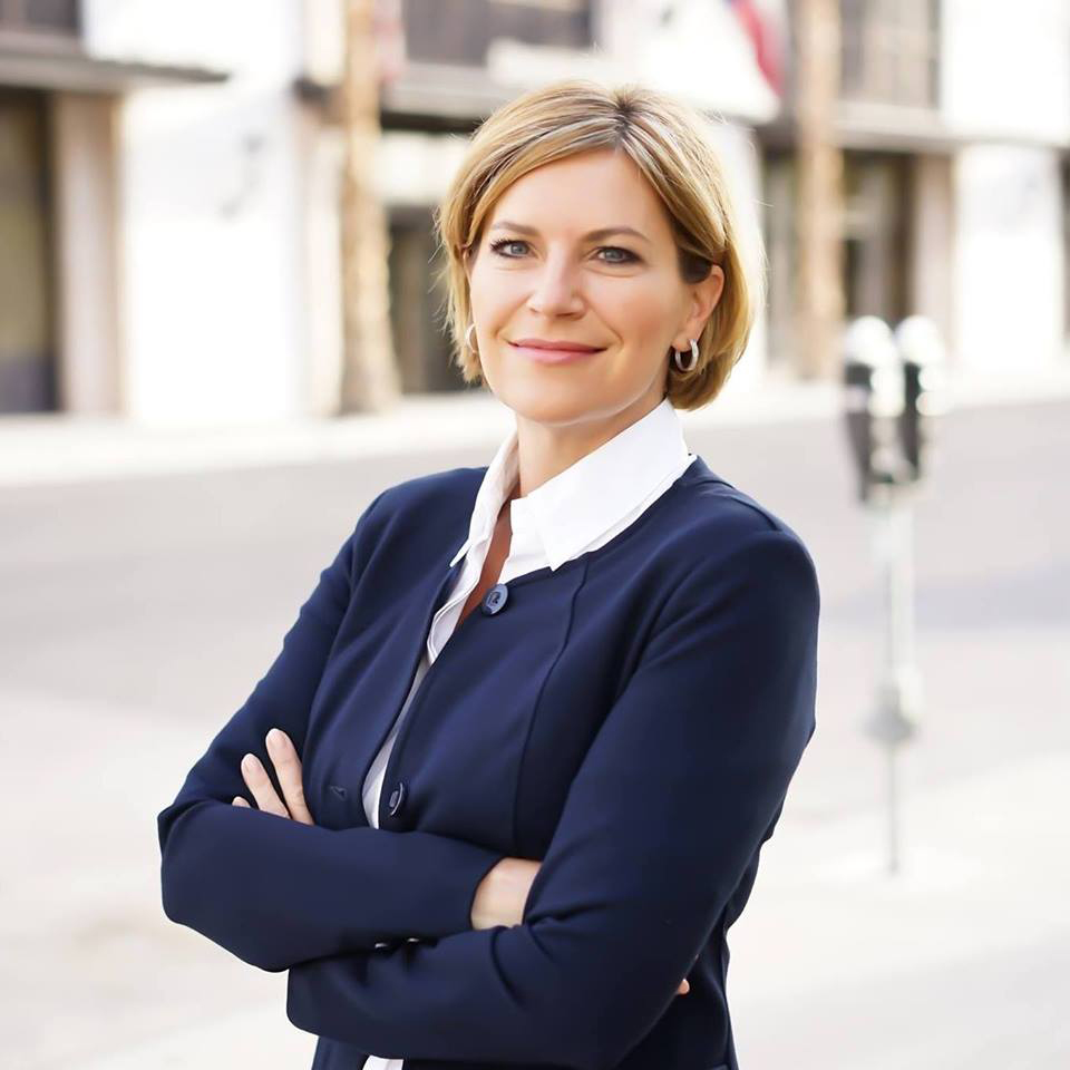 Dori Fenenbock is running for Beto O'Rourke's spot for Texas' 16th Congressional District.