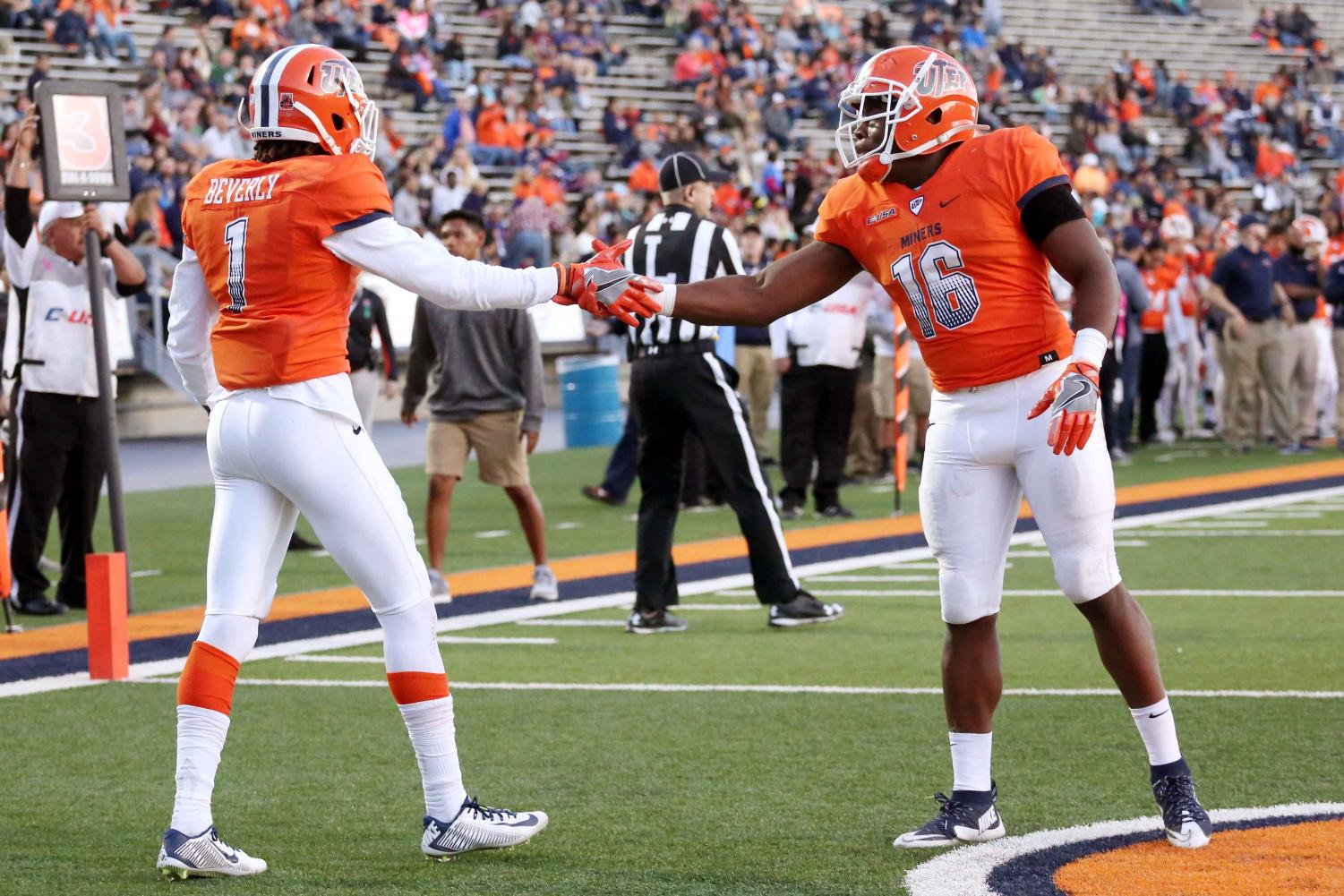 The UTEP football team is winless at 0-8 and sits last in the FBS in total offense.