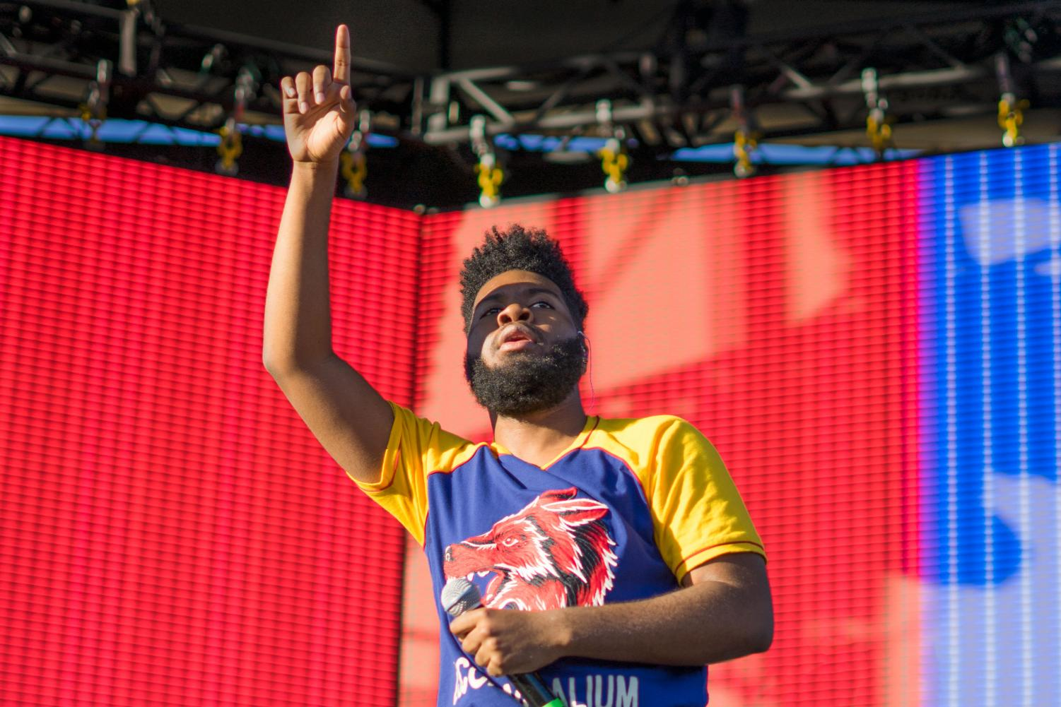 El Paso's Khalid performed on day two at Mala Luna festival.
