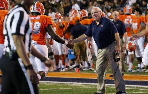 Mike Price coached at UTEP for nine years before returning as interim coach in 2017.