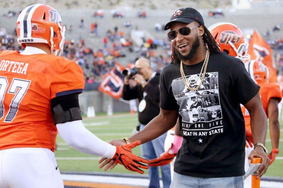 Jones returns to El Paso after strong NFL start