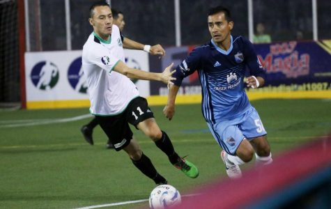 Coyotes fall to Sockers 9-5 after securing first franchise win