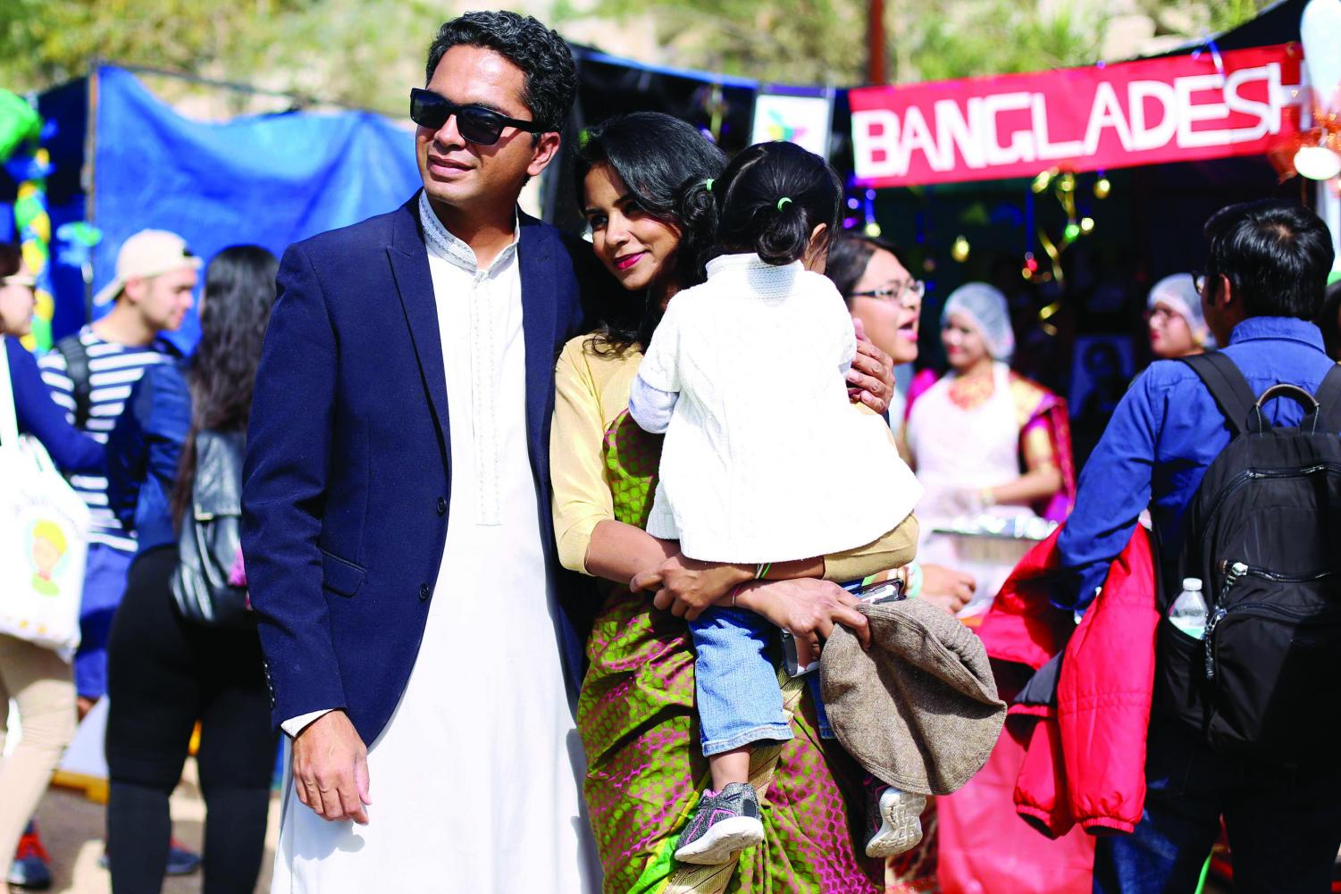 The Bangladeshi Student Association placed first in the food fair and won fan favorite as well.
