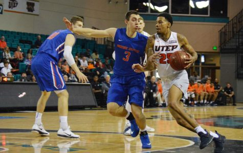 Miners fall in 58-56 heartbreaker to Boise State