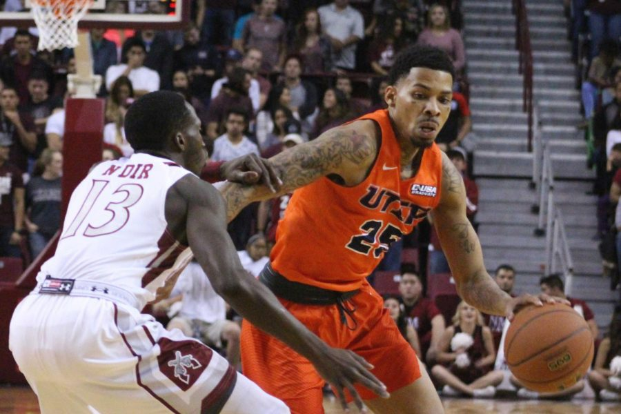Miners drop fourth straight in 72-63 loss to NMSU