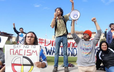 UTEP students join nationwide walkout to demand a bill that would protect Dreamers