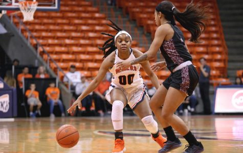 Women's basketball falls on the road to rival NMSU 76-68