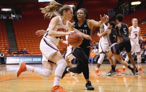 Women's basketball drops first road test at Arkansas State 76-73