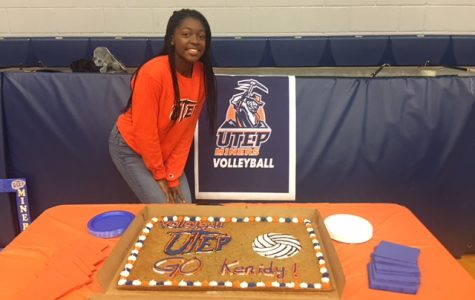Niece of former UTEP linebacker signs with women's volleyball