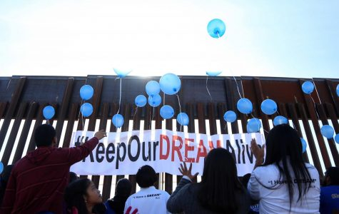 "Video: Families gather to ""Keep Our Dream Alive"" at the U.S./Mexico border"