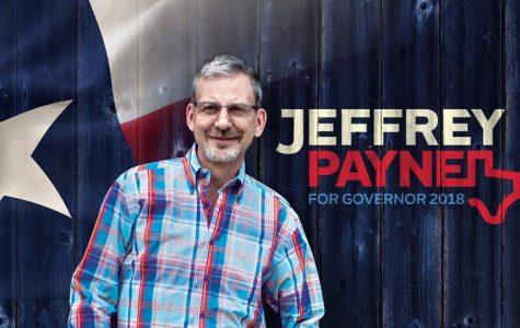 Jeffrey Payne's run against Governor Greg Abbott
