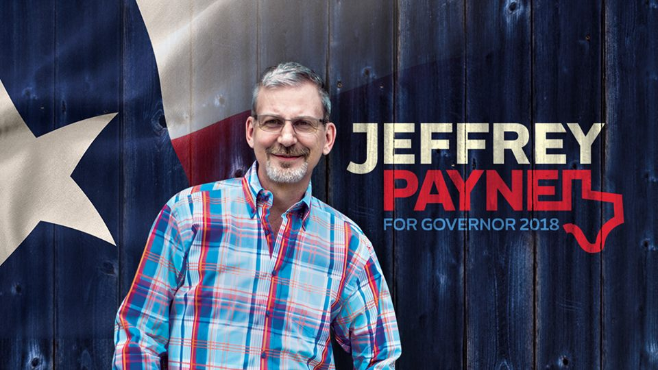 Picture courtesy of the @JeffreyforTexas Facebook page.