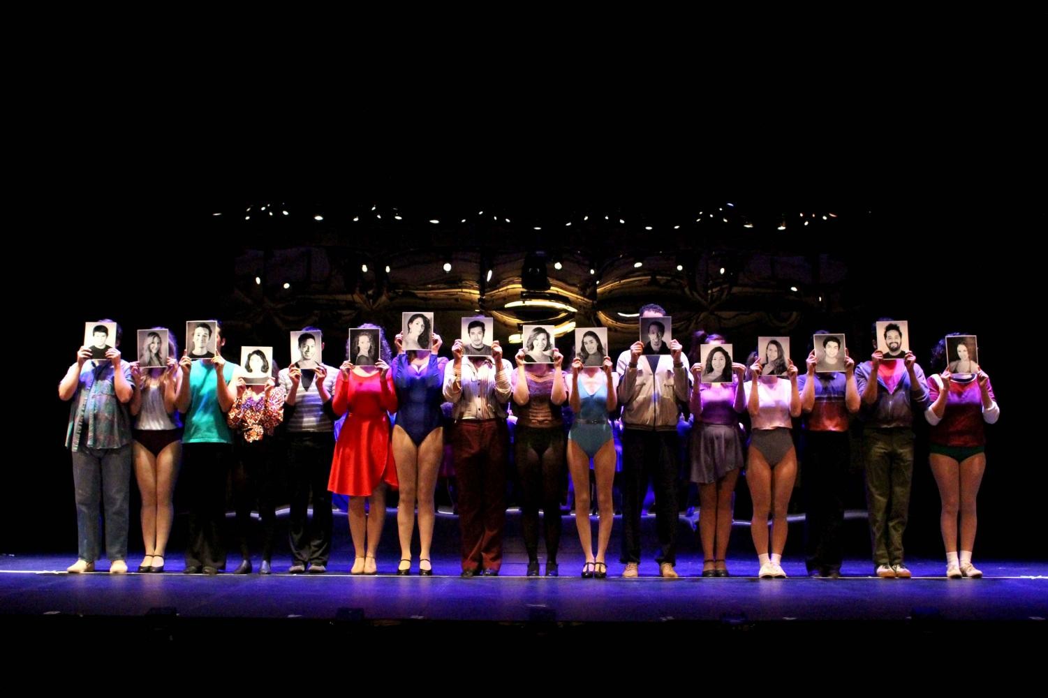 The UTEP Cast for 'A Chorus Line' will perform at the UTEP Dinner Theater through  Feb. 18.
