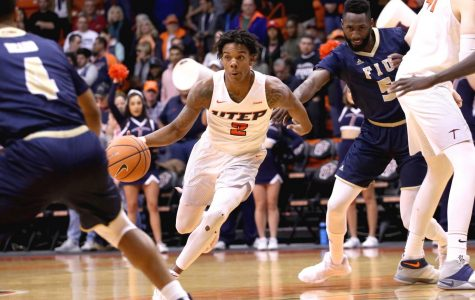 Omega Harris jumps to number 13th in UTEP scoring.