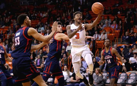 Men's basketball team faces tough challenge on the road