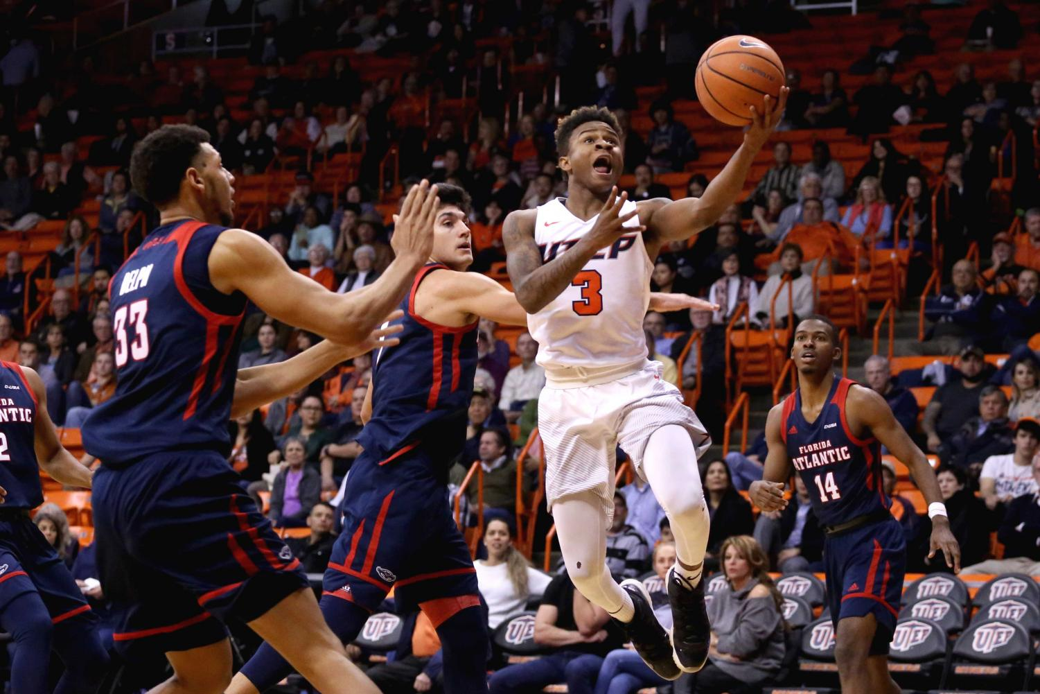 The UTEP men's basketball team faces UAB and Middle Tennessee on the road this week.