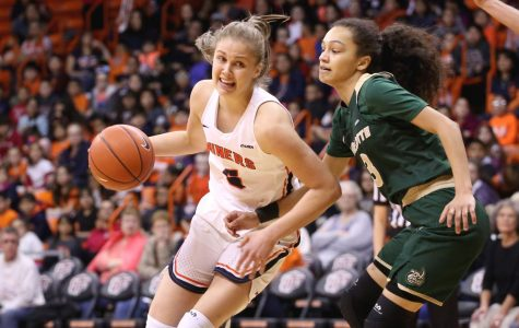 Zuzanna Puc set a new career-high with 27 points against FIU on Thursday, March 1 at the Don Haskins Center.