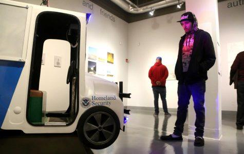 Faculty art exhibition showcases border life