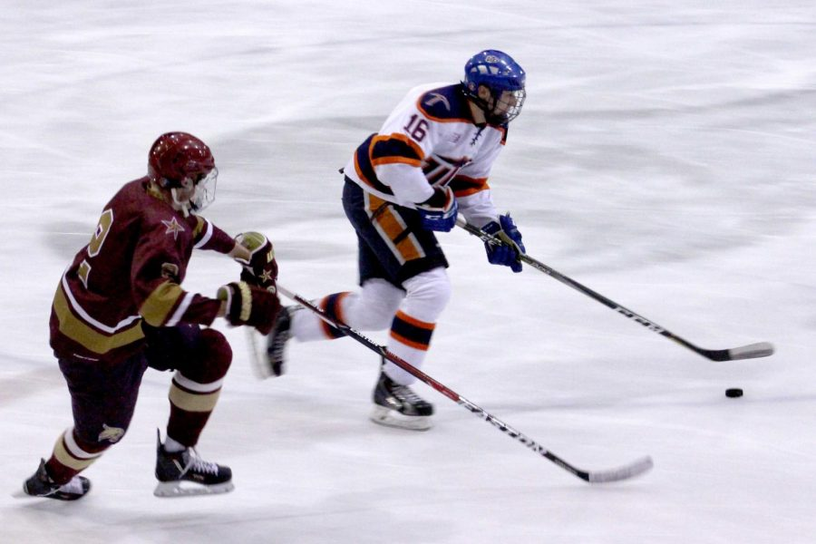 The UTEP hockey club finishes the season with an overall record of 19-11 and 17-5 in the Texas Collegiate Hockey Conference.