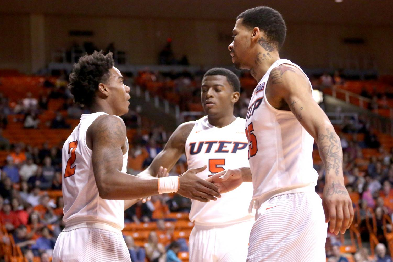 The UTEP men's basketball team will look to snap a five-game losing streak when they face UTSA for a second time this season.