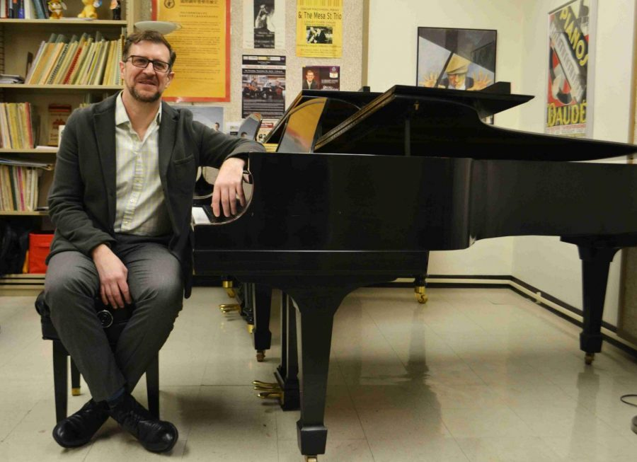 UTEP Piano Professor   Oscar Macchioni and