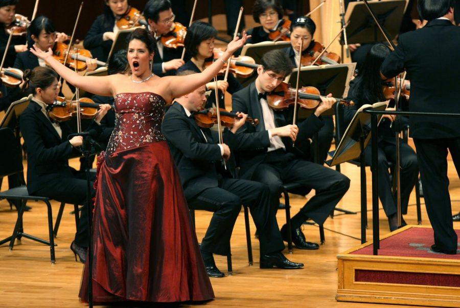 Soprano Danielle Talamantes will perform at UTEP on Tuesday, Feb. 20.
