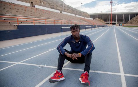 Saruni sets records in second season with UTEP track