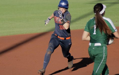 Softball grabs two wins in day one of UTEP Tournament