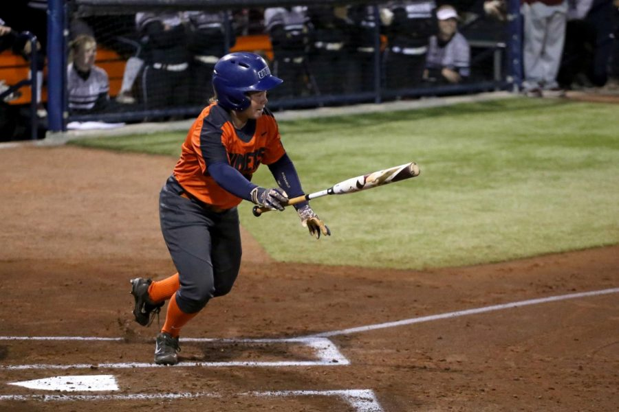Senior Kaitlyn Ryder went 3-for-4 as UTEP defeated UAB 16-13 on Sunday afternoon at Helen of Troy Softball Complex.