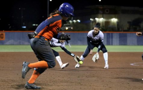 Miner softball falls in Battle of I-10