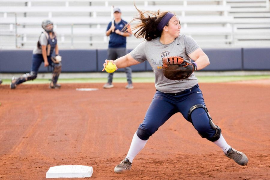 The UTEP softball team will open their home schedule against NMSU on Tuesday at 6 p.m.