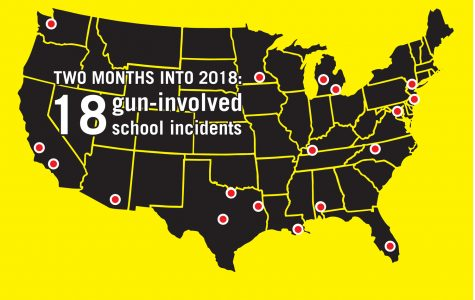 Two months into 2018: 18 gun involved school incidents
