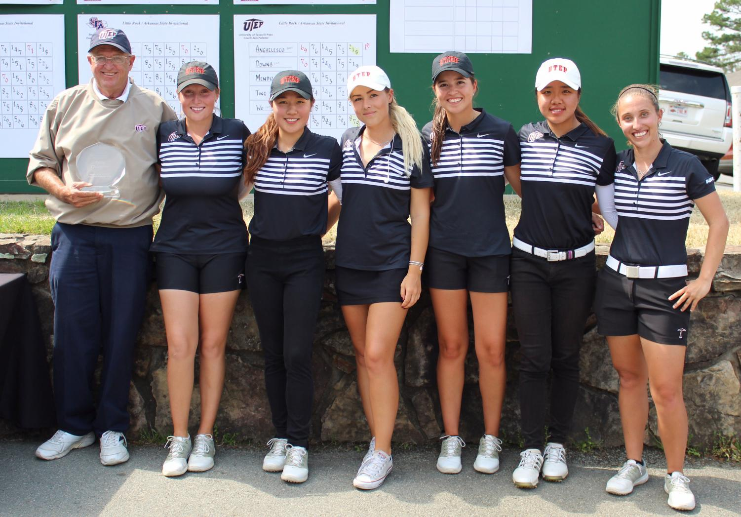 The UTEP women's golf team won their first team title since 2016 on Tuesday afternoon in Maumelle, Ark.