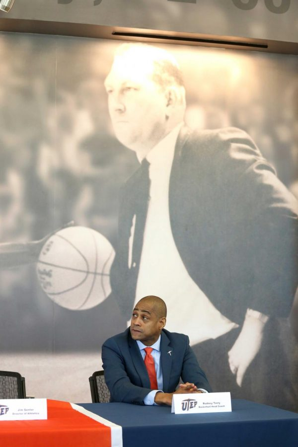 Rodney Terry was named UTEP's head men's basketball coach on Monday, March 12.