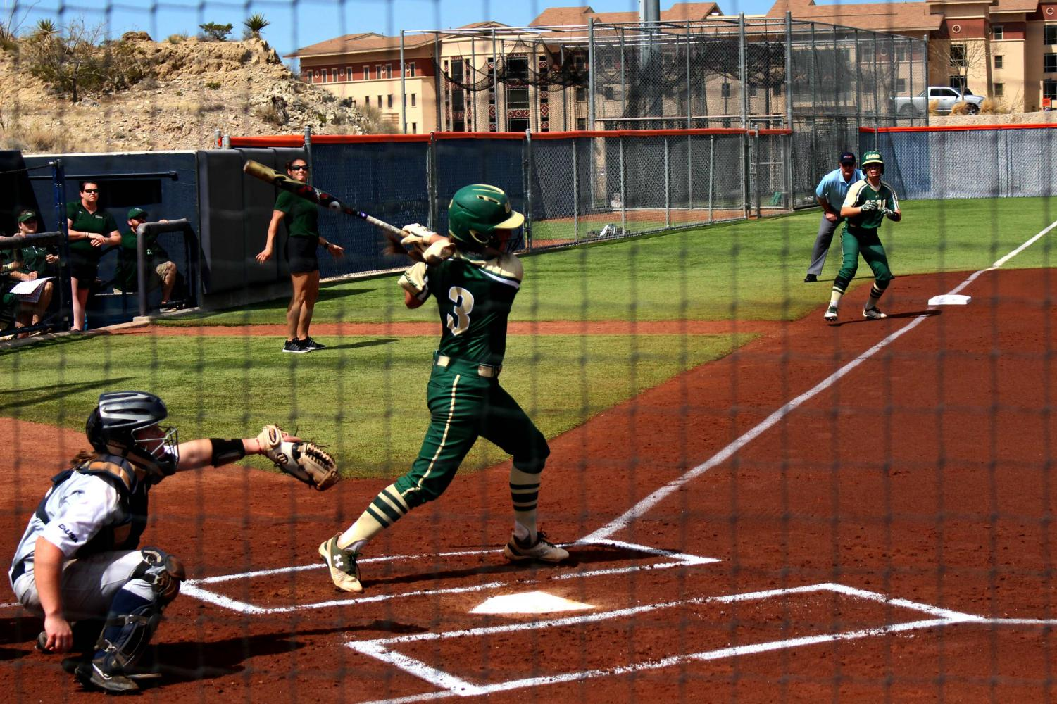 UAB beat UTEP 11-0 and 8-6 in a doubleheader on Saturday afternoon at Helen of Troy Softball Complex.