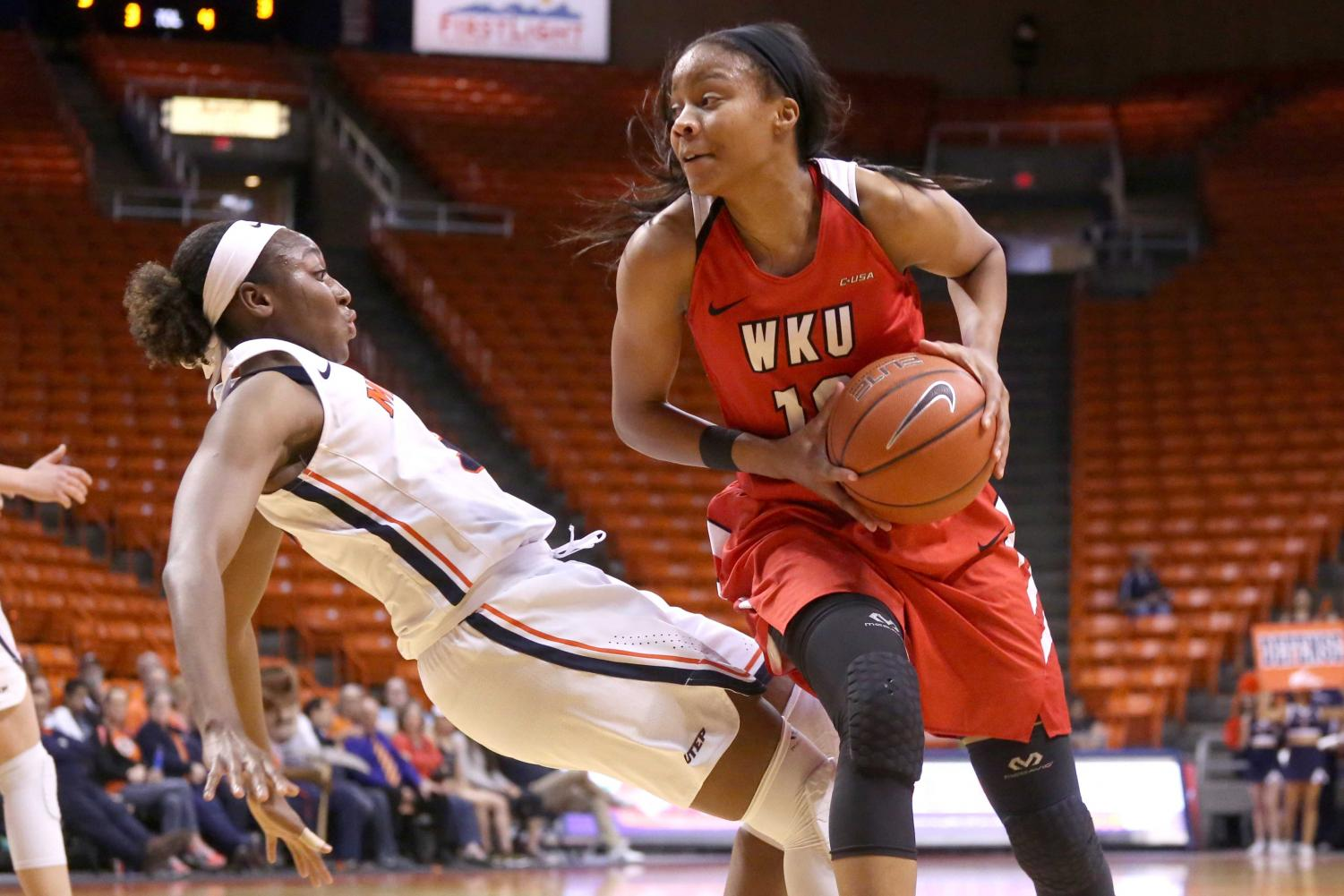 Junior+guard%2Fforward+Jordan+Alexander+attempts+to+block+WKU+and+gets+fouled+on+Saturday%2C+March+3+at+the+Don+Haskins+Center.