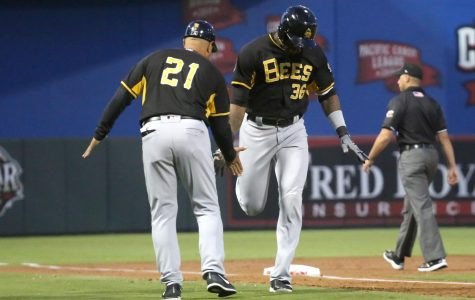 Bees swarm Chihuahuas in El Paso's home debut