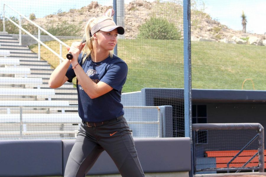 Senior infielder Courtney Clayton is second all-time in doubles (50) at UTEP.