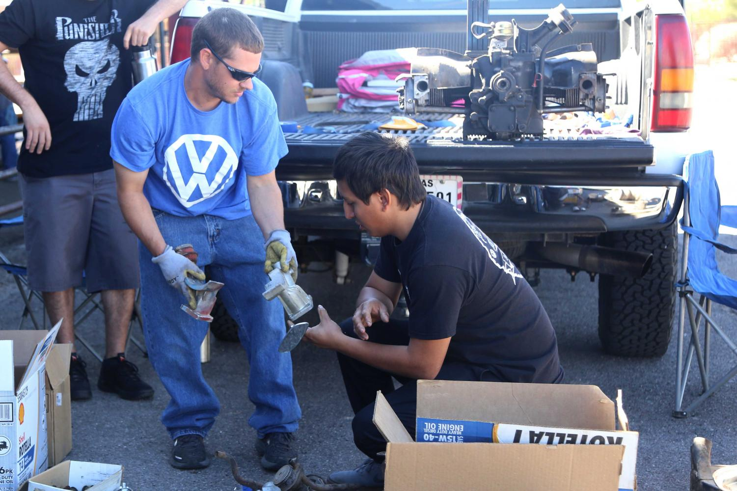 Volkswagen+car+parts+were+sold+at+ElBugO+in+ElPasO+on+Sunday%2C+April+8+at+the+County+Coliseum.