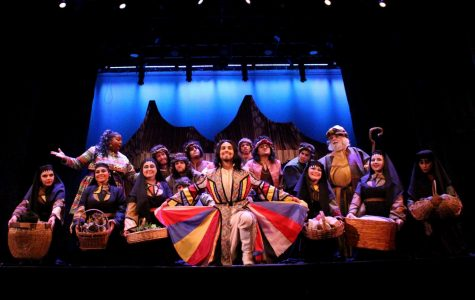 "The UTEP Dinner Theatre will celebrate its 35th anniversary by putting on stage a new version of Tim Rice's classic "" Joseph and the Amazing Technicolor Dreamcoat"" on April 20."