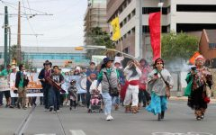 El Pasoans celebrate Earth Day by marching for the planet