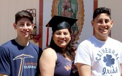 Mother of three reflects on going to school at the same time as her sons