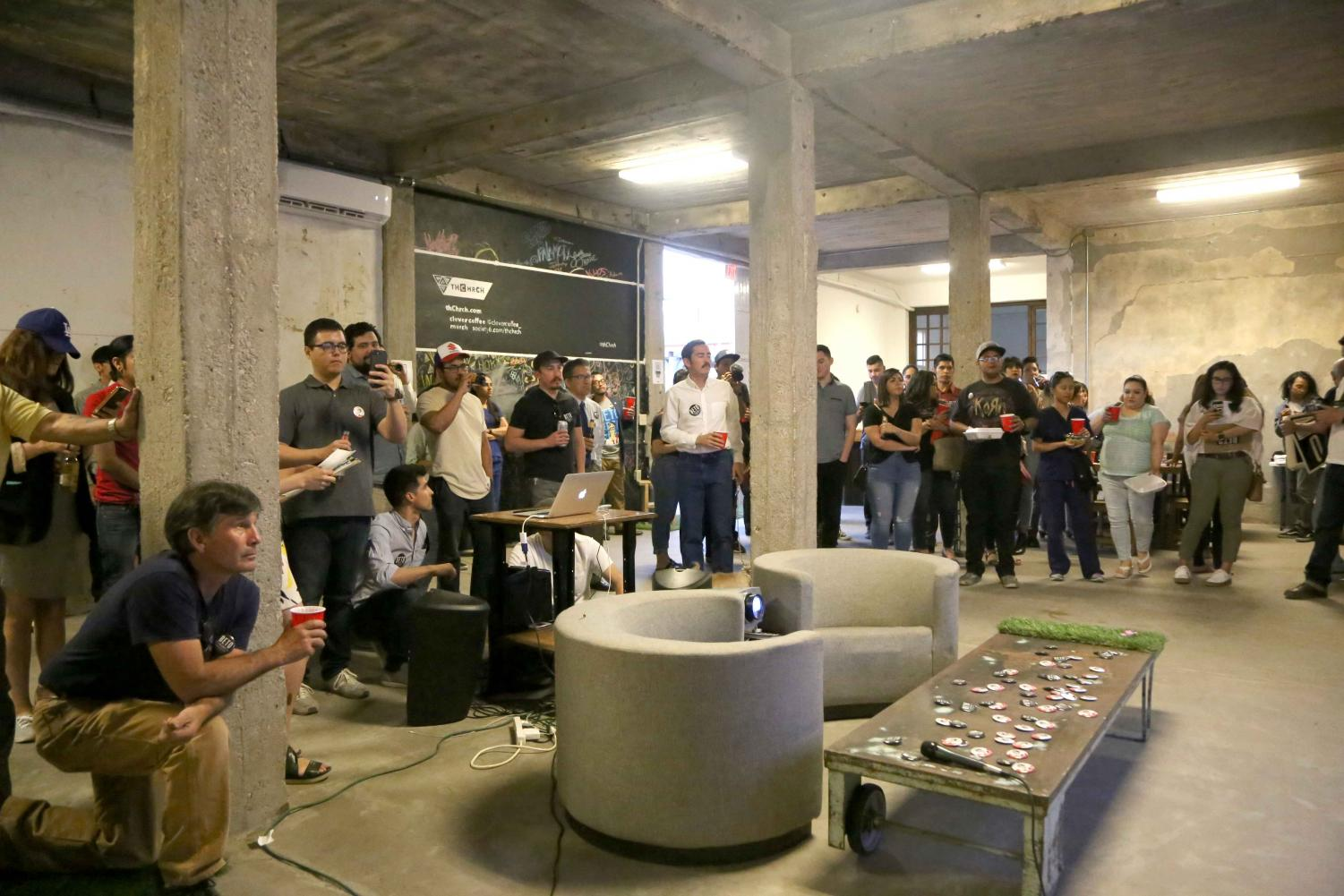 thChrch hosted a Beto O'Rourke fundraiser on Wednesday, April 18. The space will serve as a space for artists and other future events.