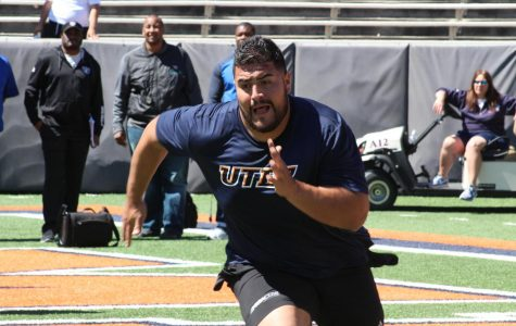 UTEP graduate Will Hernandez is projected to be the first Miner drafted in the first round of the NFL draft since 1968.