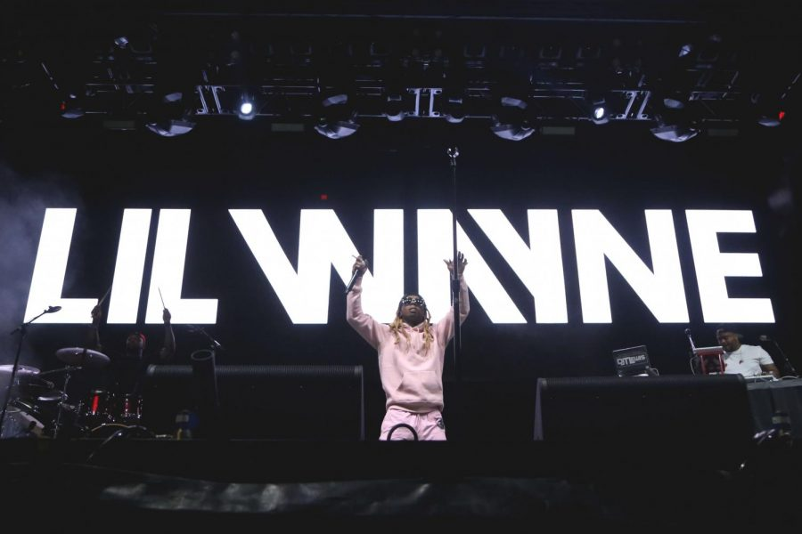 Lil+Wayne+performs+at+the+Rio+Bravo+Stage+at+day+of+the+Neon+Desert+Music+Festival+on+Saturday%2C+May+26.
