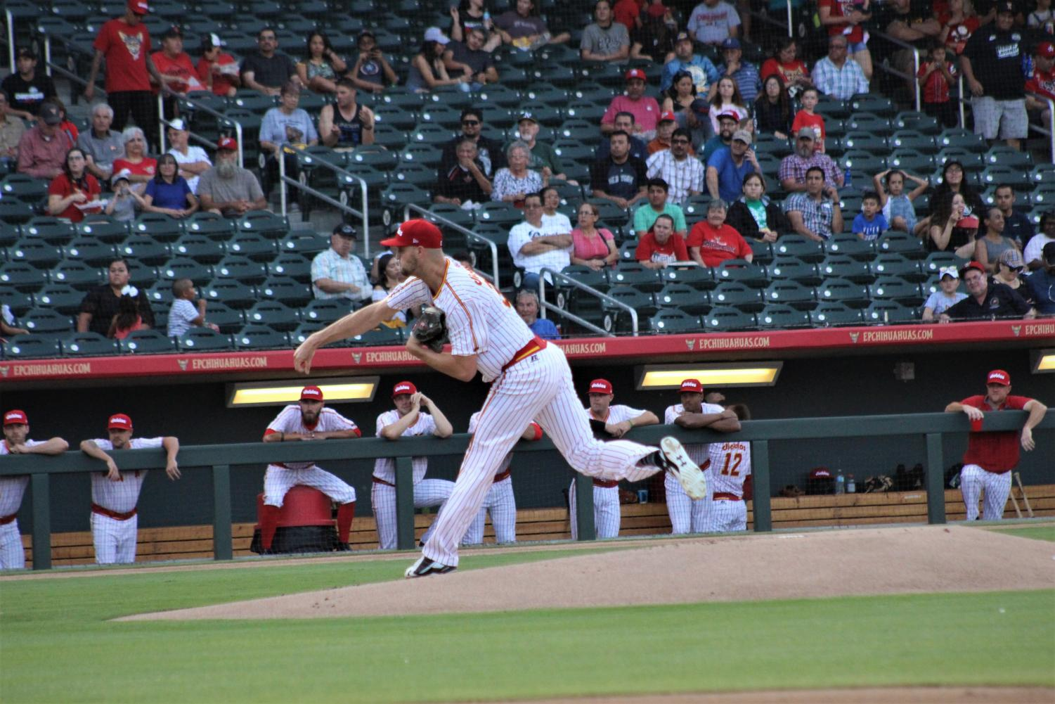 The Chihuahuas play at home on Wednesday night, June 13.