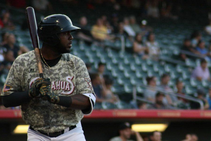 Designated hitter Franmil Reyes at-bat on Monday June 25 at the Southwest University Park.