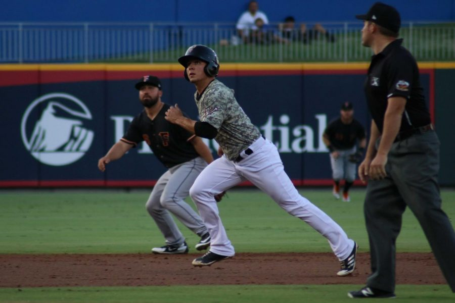 Second base Luis Urias went 2-for-5, getting one run for his team on Monday June 25 at the Southwest University Park.