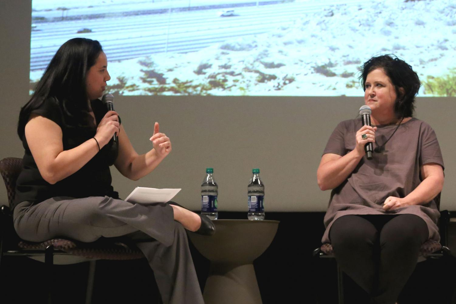 El+Paso+Times+Editor+Zahira+Torres+hosted+the+panel+discussion+on+Thursday%2C+June+7+at+the+Union+Cinema.+