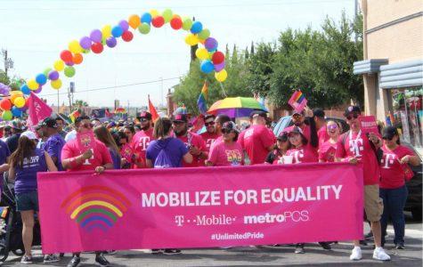 The El Paso Sun City Pride hosted their 11th annual pride parade Saturday morning in the El Paso Downtown area.